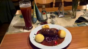 Abendessen beim Reiterhof Lukas